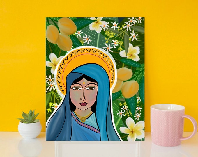 Our Lady of the Mangos Print