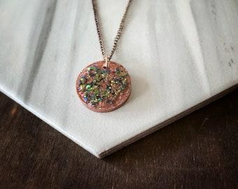 Catholic Jewelry * Catholic Pendant Necklace * Resin Pendant Necklace * Gifts for Her * St. Jospehine Bakhita