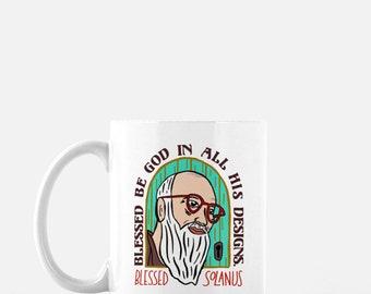 Catholic Coffee Mug * Blessed Solanus Casey Mug * Inspirational Mug * Gift for Her * Christian Gifts