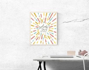 Catholic Prints | Catholic Art | Catholic Home Decor | Christian Art | Inspirational Art | Radiate Joy
