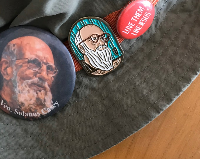 Blessed Solanus Enamel Pin