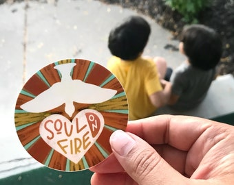 Soul on Fire Sticker