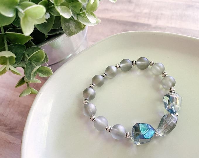 Catholic Bracelet * Beaded Bracelet * Stretch Rosary Bracelet * Catholic Jewelry * Gifts for Her