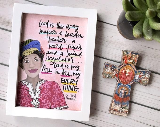 Catholic Prints | Thea Bowman Print