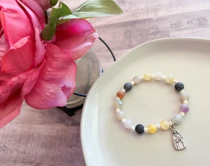 St. Therese Stretch Bracelet