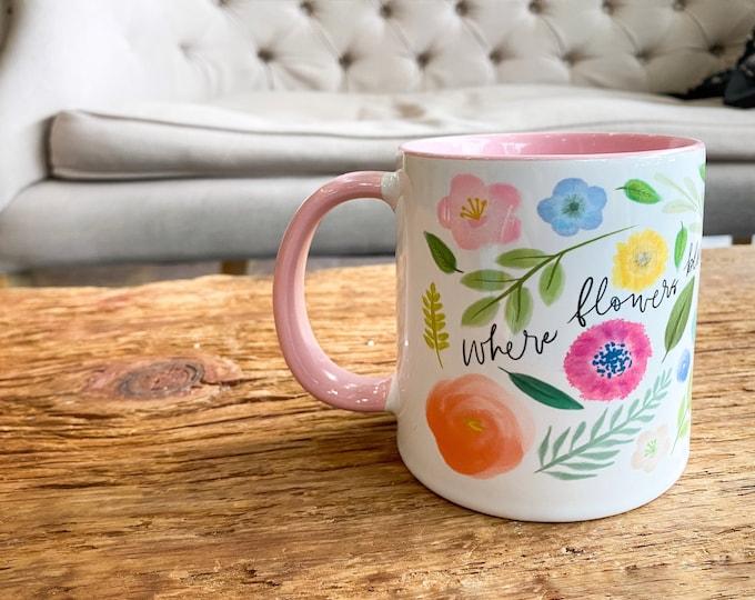 Floral Hope Mug