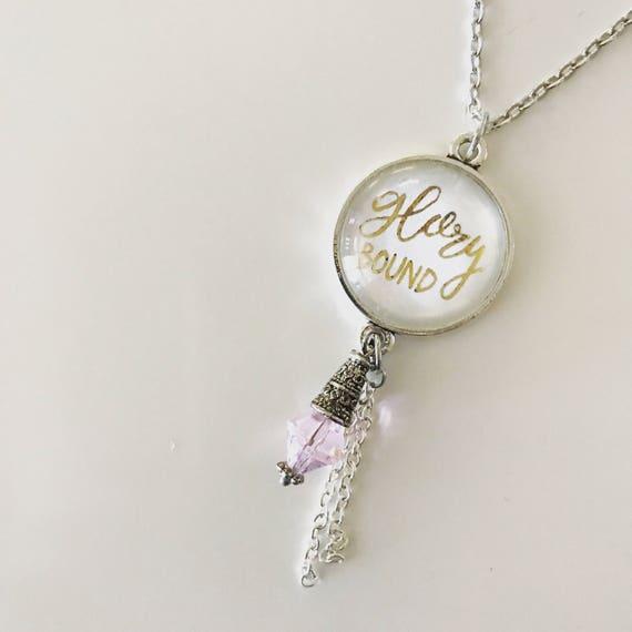 Catholic Jewelry * Catholic Pendant Necklace * Pendant Necklace *Tassel Necklace * Handlettered Pendant Necklace * Gifts for Her
