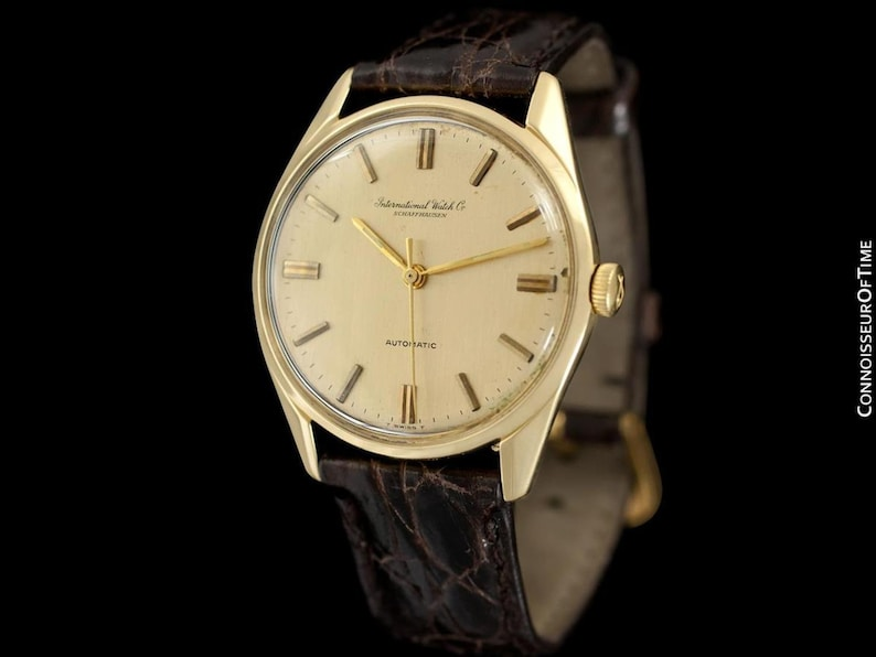 78478d357ff 1964 IWC Vintage Full Size Mens Watch Cal. 854 Automatic