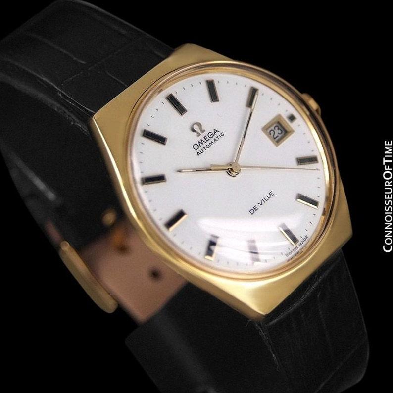 6f17da3e5 1970's Omega De Ville Vintage Mens Automatic Classic Retro | Etsy