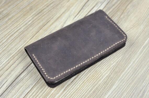 71ba658e5681cb Ledertasche für iPhone 6 7 8 Tasche Geldbörse iPhone XS