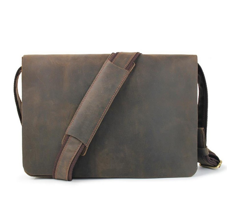 fcdbde59d6e8 Leather Messenger Bagmacbook air 13 Laptop SatchelCrossbody