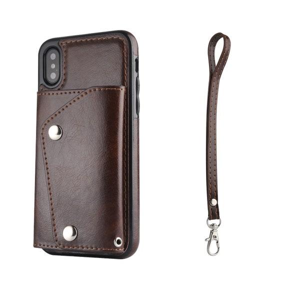 IPhone Custodia portafoglio in pelle. Fatta per iPhone Xs /  Etsy
