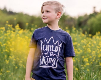Child of the King Youth Crew Sustainable Fair Trade Triblend T-shirt