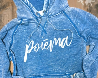 Poiema Adult Unisex Acid Wash Soft Hoodies