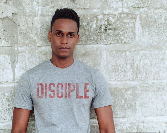 Featured listing image: Disciple Sustainable Adult Unisex Mission Triblend Tees