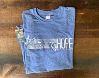 Hope Rises Matthew 6:26 Adult Unisex Sustainable Fair Trade Triblend Tshirt