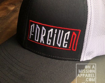 Forgiven Embroidered Fitted Trucker Hat with R-Flex