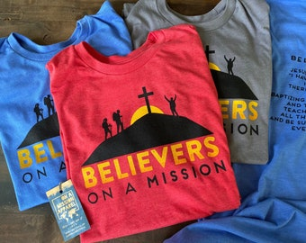 Believers On A Mission Fundraiser Adult Unisex T-shirt