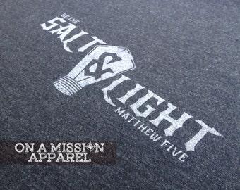SALT Group Order--Be the Salt & Light Matthew 5 Tees