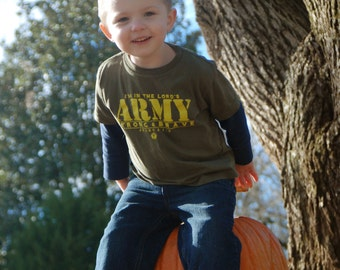 I'm in the Lord's Army Toddler Tees Closeout