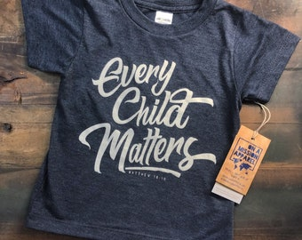 Every Child Matters Toddler Crew Sustainable Fair Trade Triblend T-shirt