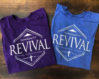 Community Revival Adult Unisex Tshirts