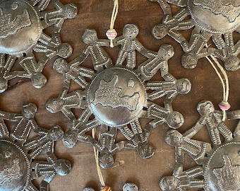 All the Children of the World Hammered Steel Fair Trade Ornament from Haiti
