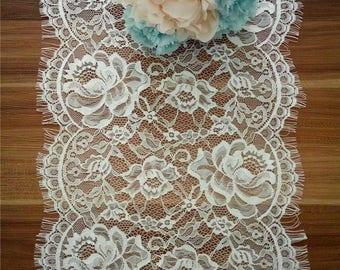 sale online best selling wide varieties Runner with lace | Etsy