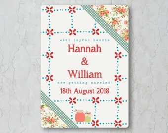 Summer Picnic Wedding Invitation