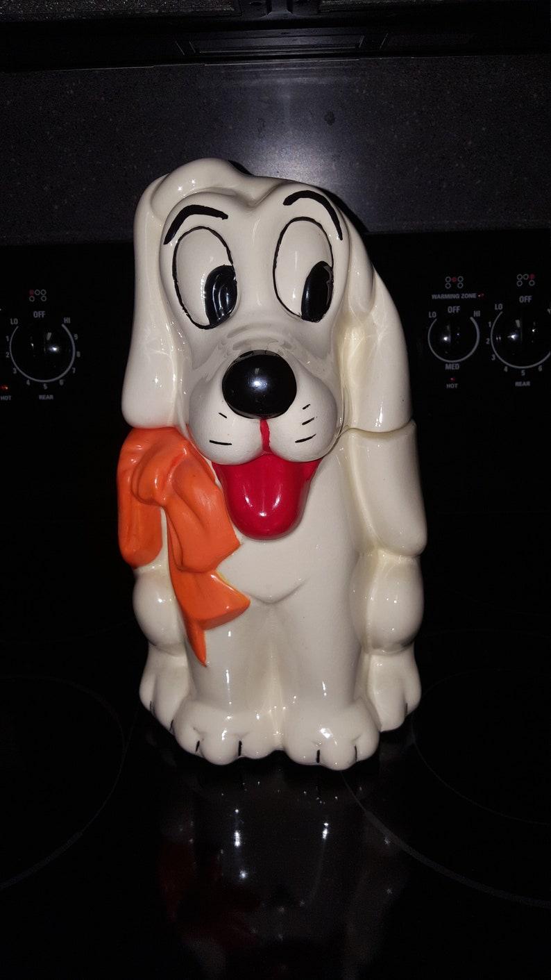Disney Cookie Jar Etsy >> Oldie Walt Disney Pluto And Dumbo Turnabout Cookie Jar