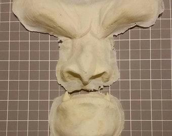 Beast Face prosthetics (slip latex)