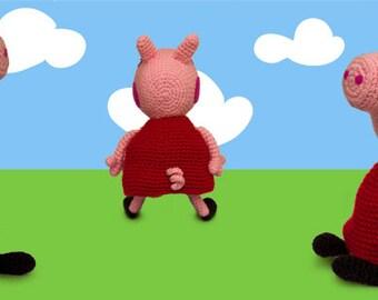 Tutorial Peppa Pig Amigurumi | How to crochet Peppa Pig Amigurumi ... | 270x340