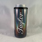 Personalized Hopsulator Slim Stainless Steel Can Holder