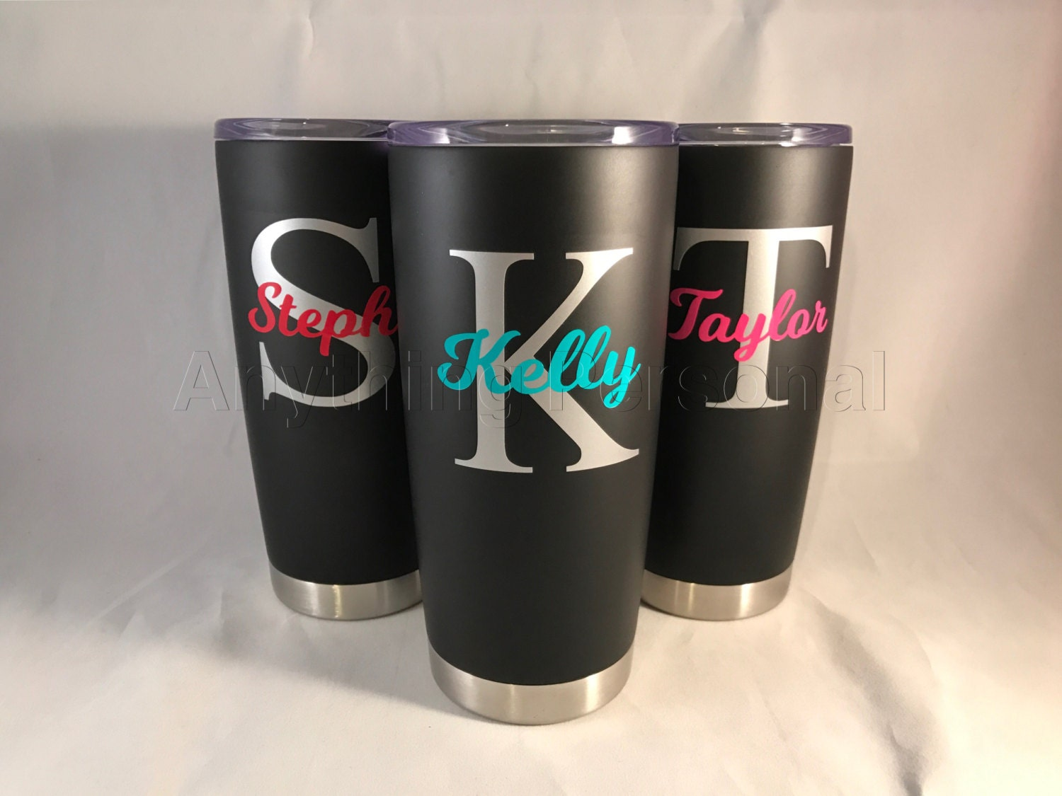 0aed13ea7bc Personalized Stainless Steel Cup, Personalized Stainless Steel Tumbler,  Personalized Cup, Personalized Gift, Beach Cup, Bridesmaid Tumbler
