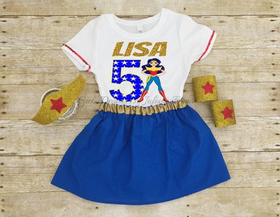 Wonder Woman Shirt Birthday