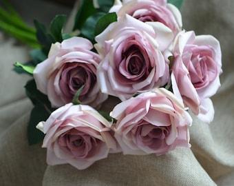 Garden Roses Digital Print Elizabeth Studio D521 100/% Cotton Fabric FQ 1//2 Metre