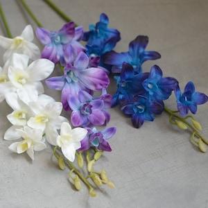 Dendrobium Orchid Purple Orchids Pink OrchidLavender Orchid Wedding CenterpiecesHome DecorFaux FlowersSilk FlowersFlower Bouquet