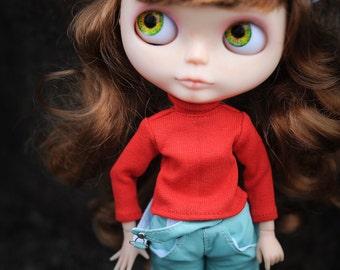 Blythe long-sleeve, Blythe roll neck sweater, Blythe clothes  by BlablaBlythe
