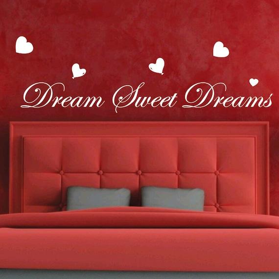 Sognare sogni d\'oro amore cuore arte camera da letto | Etsy