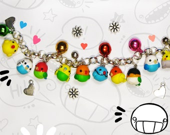 Parrot - Bird Bracelet - Choose your Parrots/Birds!