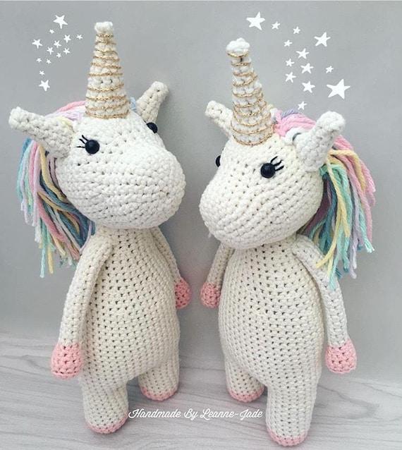 vivir vintage: Como tejer un hermoso unicornio en crochet ...   638x570