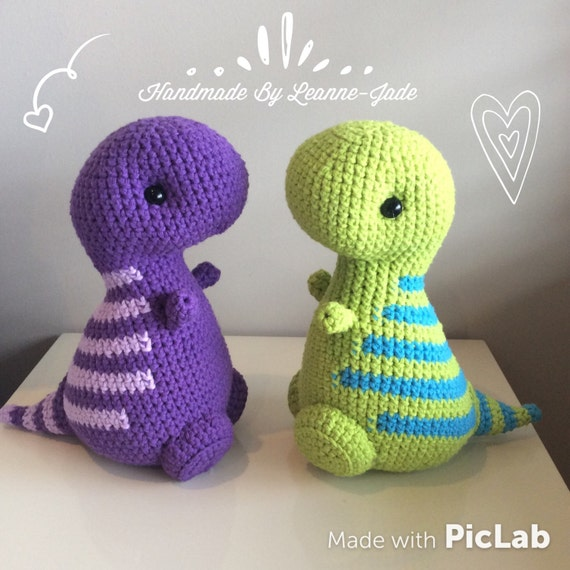 Amigurumi Crochet T-Rex peluche juguete Kawaii peluche   Etsy