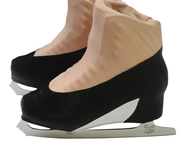 Cover Black Boot Heel High Skate Figure Roller Skating Ice qUSLzMGVp
