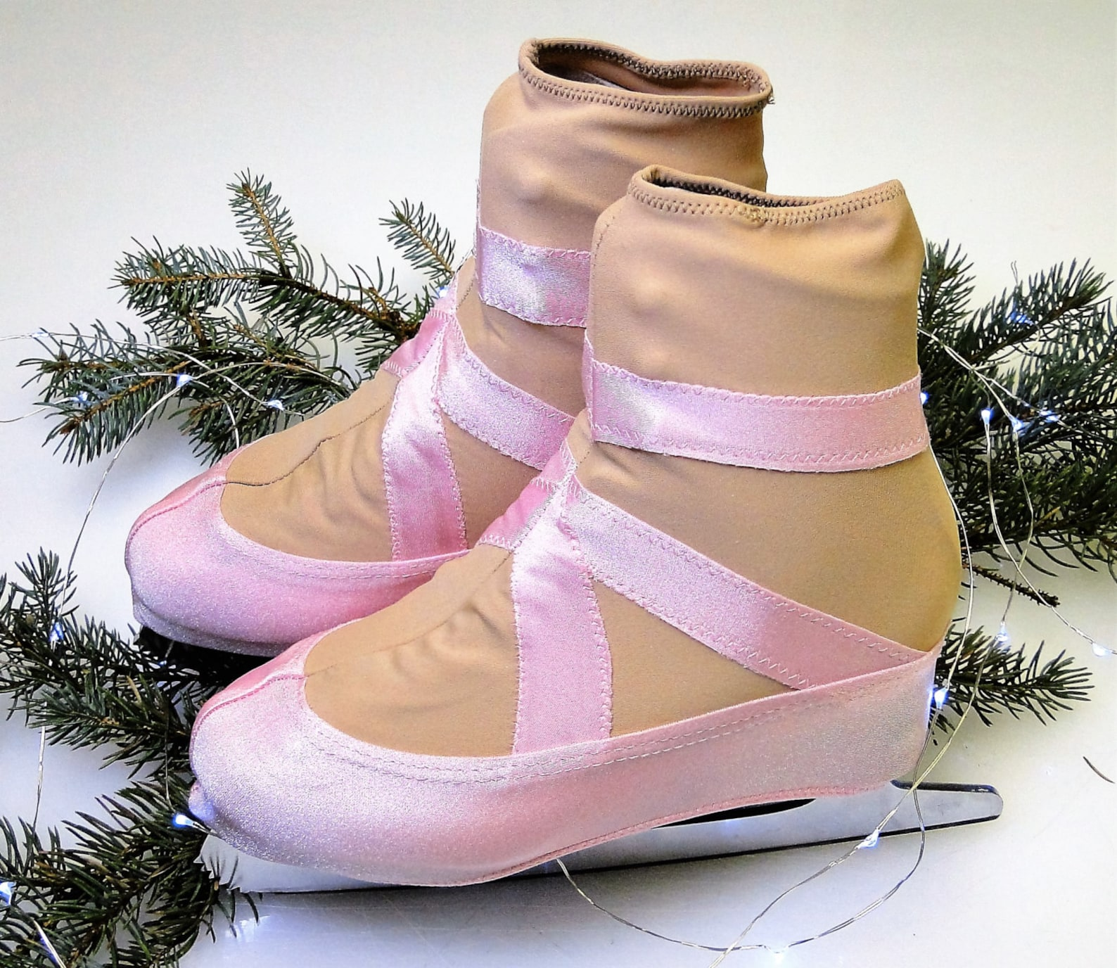 ballet slipper skate boot covers / figure skating / ice skating