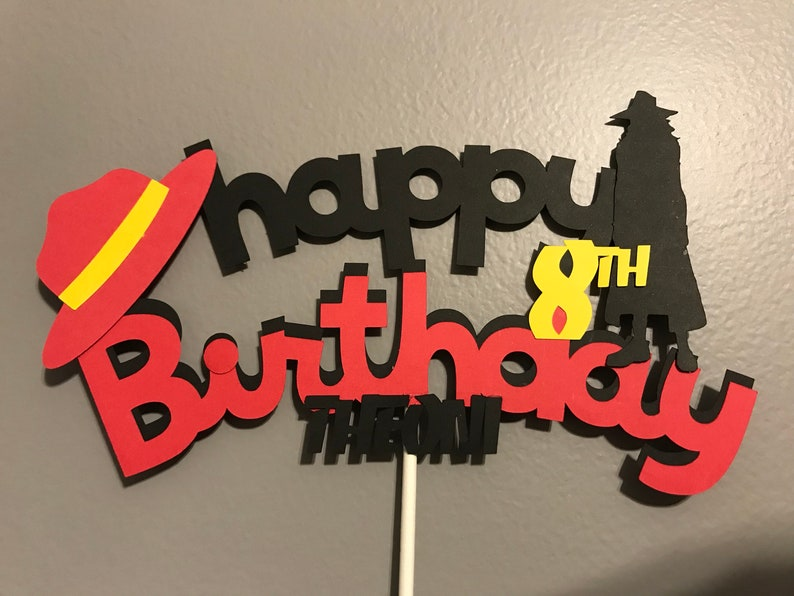 Fantastic Girl Spy Detective Happy Birthday Cake Topper Etsy Birthday Cards Printable Giouspongecafe Filternl