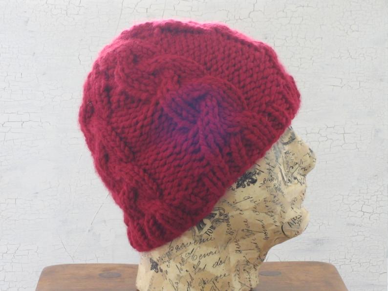400681793cb Men s Cable Knit Hat Cable Hat Men s Knit Hat