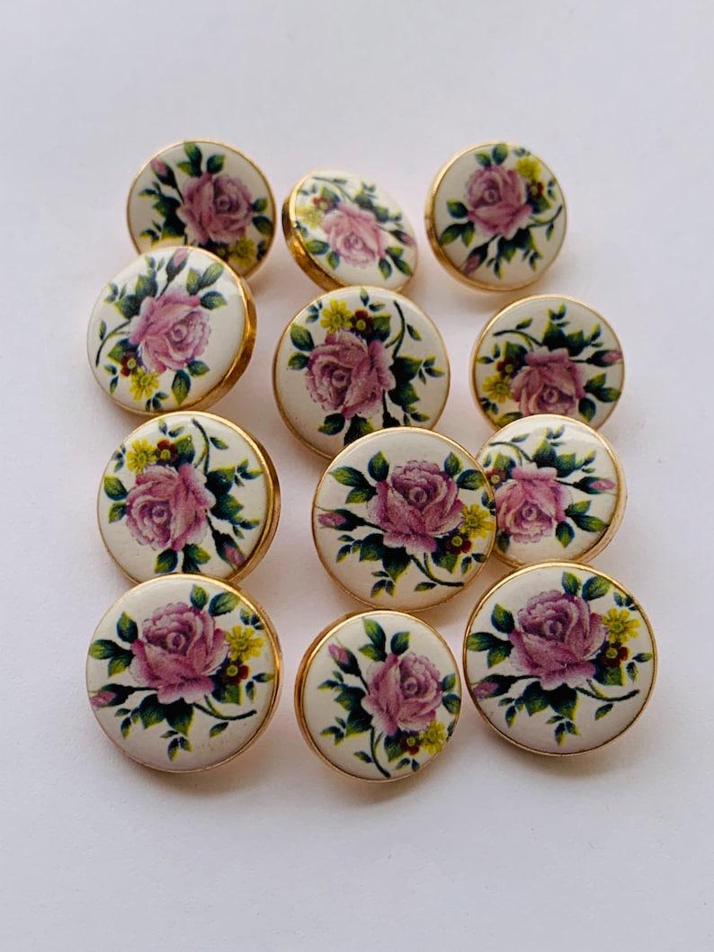 Suit Buttons Sherwani Buttons Buttons Downhole Blazer Buttons 12Pcs Golden Polish Printed Metal Buttons-Coat Buttons Sherwani Buttons