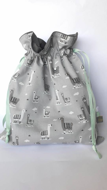 Llama Baby Bib Montessori Baby Bibs Embroidered Scandinavian Modern Baby Gift Baby Bibs Personalized