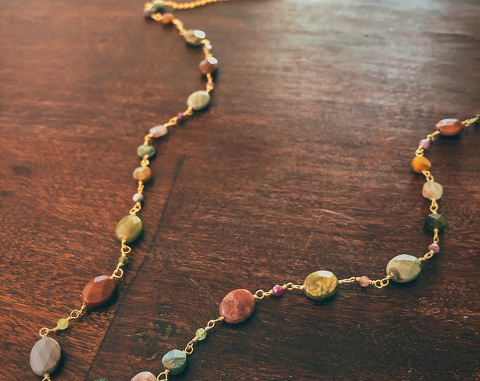 Featured listing image: Take me Away Tourmaline Necklace