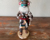 Vintage Crazy Rattle Kachina Doll